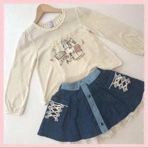 Other - NEW Axes Femme Kids skirt and top from Tokyo 7-8
